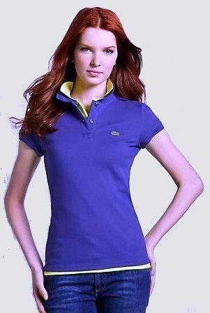 Lacoste Damen Klassisches Polo-Shirt blau 79.jpg